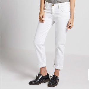Current Elliot THE FLING Relaxed Fit Jean white